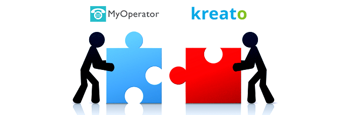 Kreato CRM can now track your business calls with MyOperator