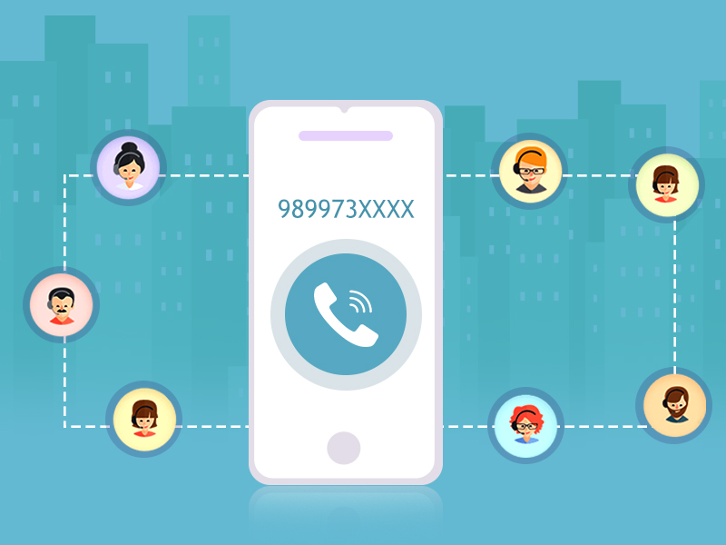 Virtual business phone number for smarter sales & effective support
